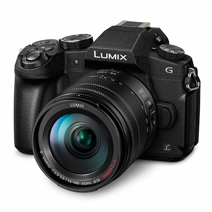 Panasonic Lumix DMC-G80HEG-K Camera + 14-140mm / f3.5-5.6 Lens