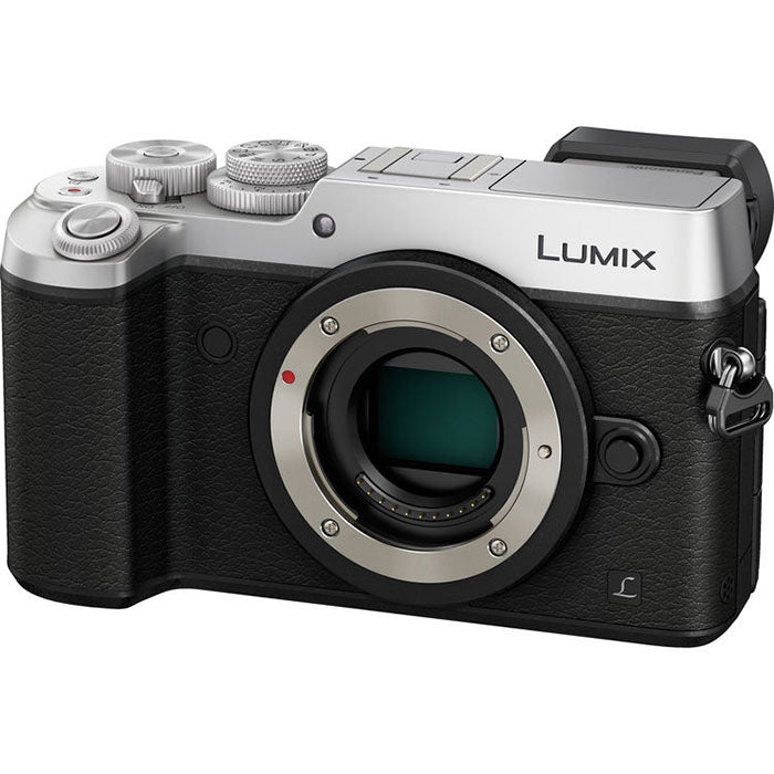 Panasonic Lumix DMC-GX8EG-S Mirrorless MFT Digitale Camera Zilver (Body Only)