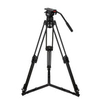 Camgear DV6P Aluminium Tripod Systeem met Ground Spreader