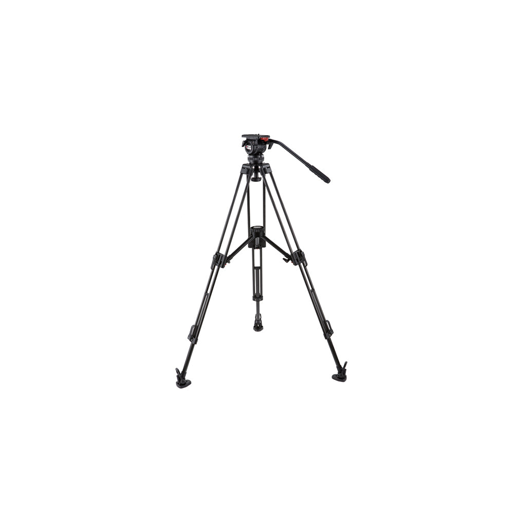 Camgear DV6P Carbon Fiber Tripod Systeem met Mid-level Spreader