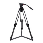 Camgear DV6P Carbon Fiber Tripod Systeem met Ground Spreader
