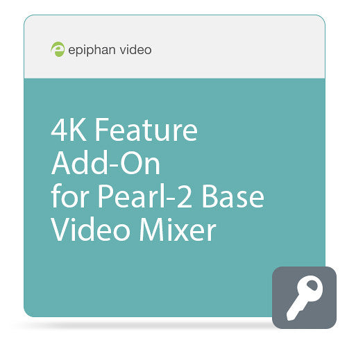 Epiphan 4K Feature Add-On voor Pearl 2