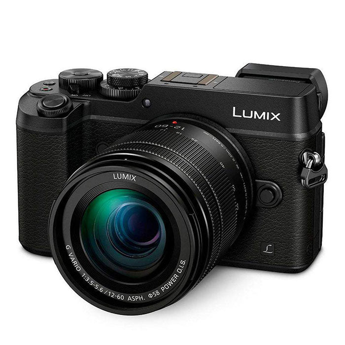 Panasonic Lumix DMC-GX8MEG-K Mirrorless MFT Digitale Camera + LUMIX G VARIO 12-60mm / f3.5-5.6 Lens