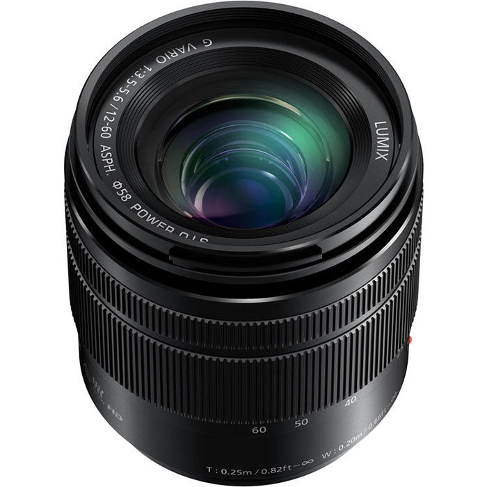 Panasonic H-FS12060E Lumix G Vario 12-60mm f/3.5-5.6 ASPH. POWER O.I.S. Lens