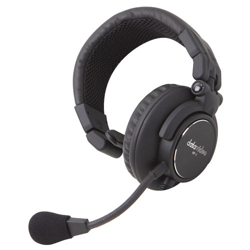 Datavideo HP-1E One Ear Headset voor ITC-100SL