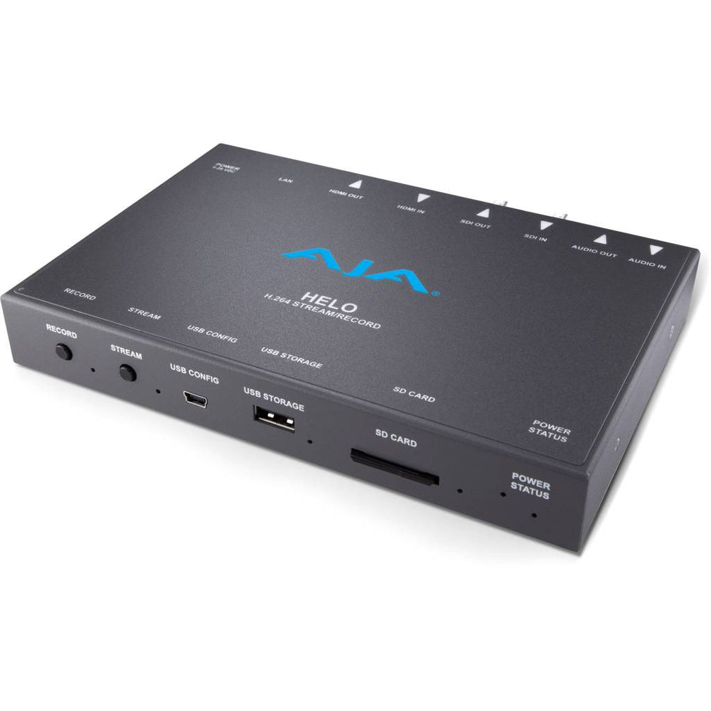 AJA Helo H.264 HD/SD Recorder & Streamer