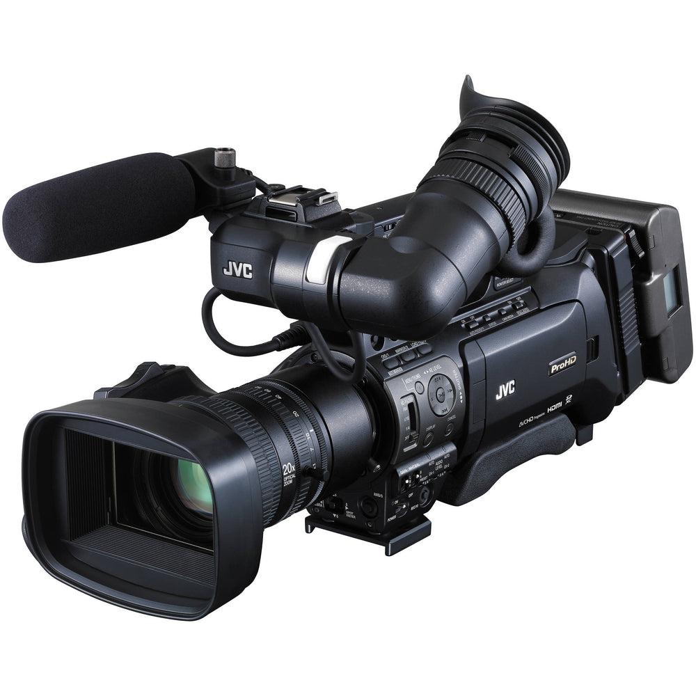 JVC GY-HM850RE Live Streaming ENG HD Schouder Camcorder