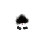 Rycote Black Ristretto Lavalier Windjammer - single