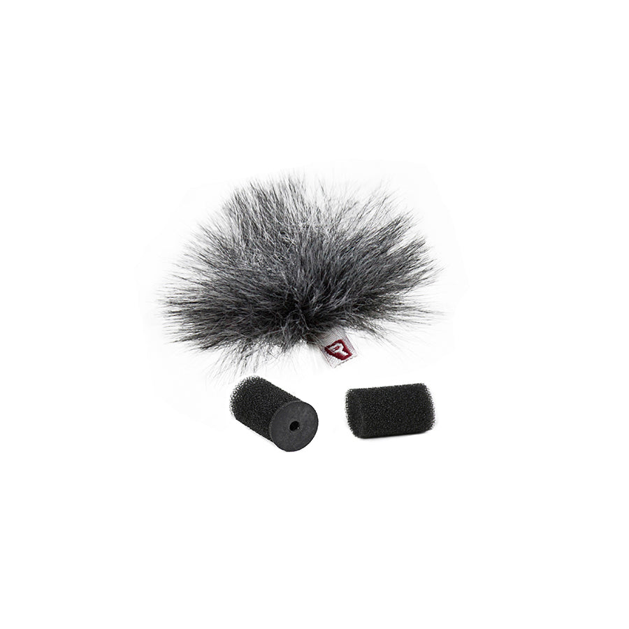 Rycote Grey Ristretto Lavalier Windjammer - single