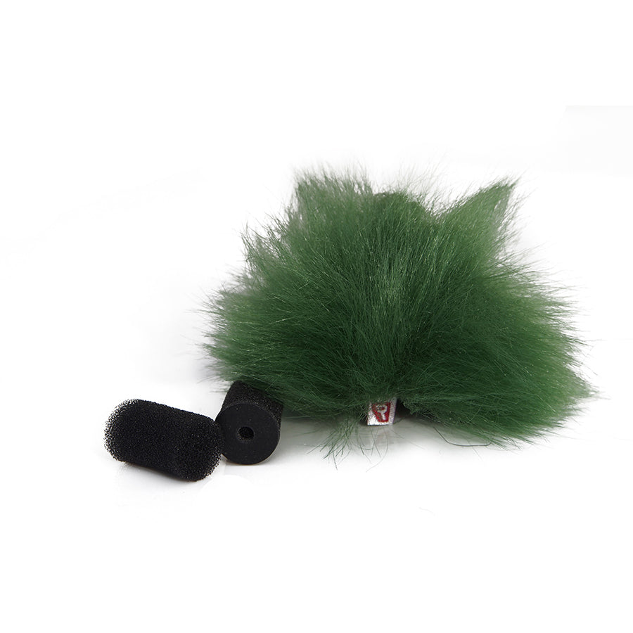 Rycote Green Lavalier Windjammer - single