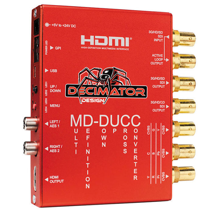 Decimator MD-DUCC Multi-Definition Down Up Cross Converter