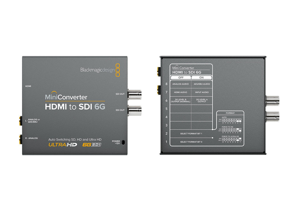 BlackMagic Design Mini Converter HDMI naar SDI 6G