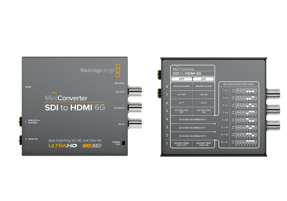 BlackMagic Design Mini Converter SDI naar HDMI 6G
