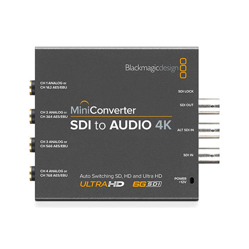 BlackMagic Design Mini Converter SDI naar Audio 4K