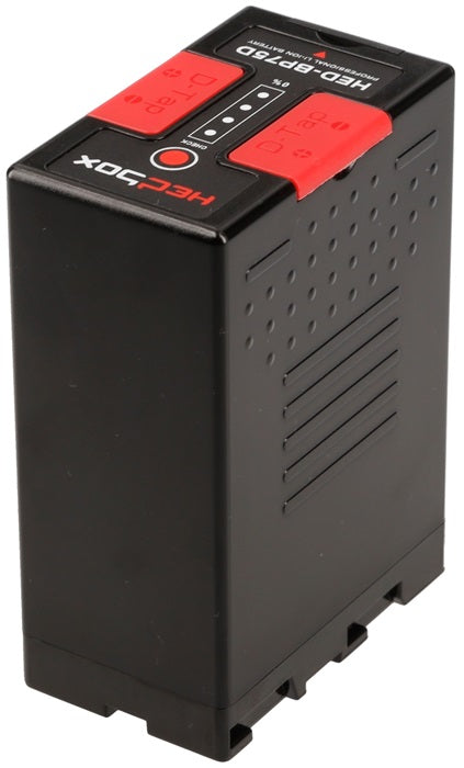 Hedbox HED-BP75D Lithium Battery DTAP + USB voor Sony BP-U camera's