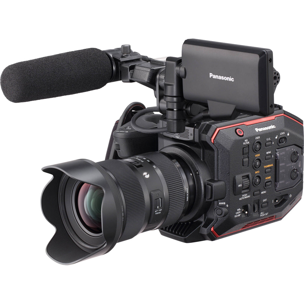 Panasonic AU-EVA1 Super 35 Handheld 5.7K Cinema Camera Body