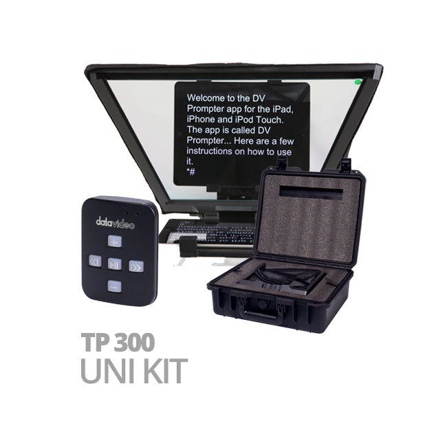 Datavideo TP-300 UNI KIT incl. HC-300 en WR-500
