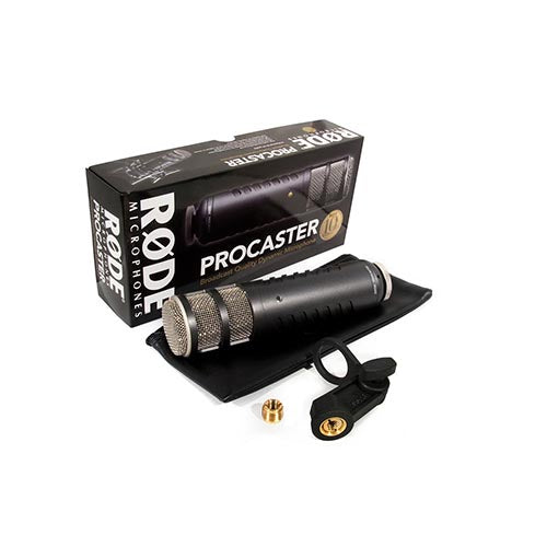 Rode Procaster Microphone for Close Micing. Incl RM2