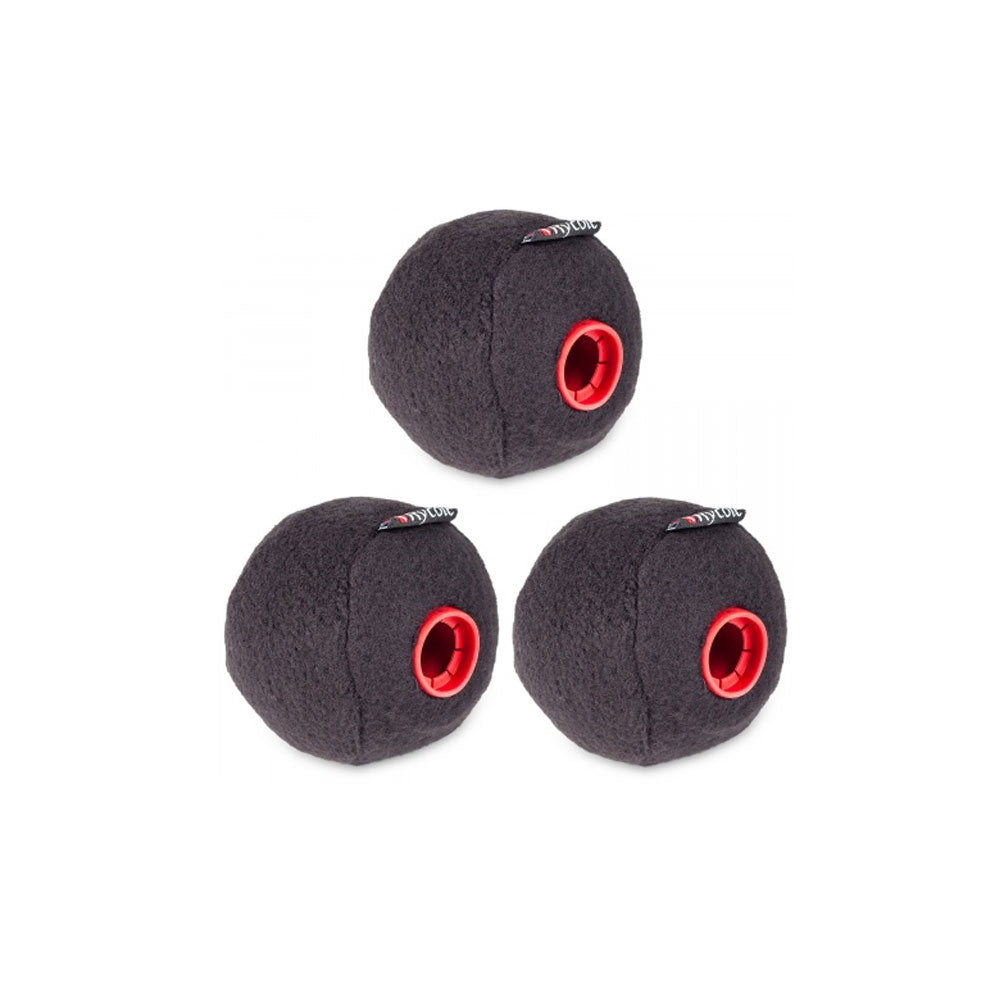 Rycote Baseball, Black (19/20mm) x 3 Pack
