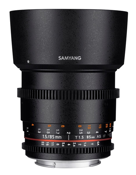 Samyang 85mm T1.5 VDSLR AS IF UMC II Various Brands