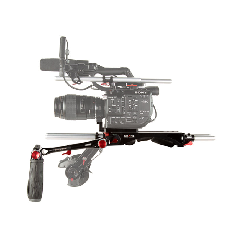 Shape Sony FS5 Baseplate Bundle Rig With Metabones® Support