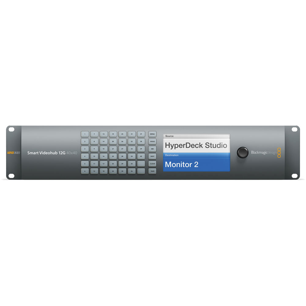 Blackmagic Design Smart Videohub 40 x 40 12G-SDI