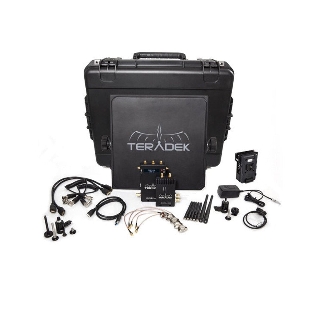 Teradek Bolt Pro 2000 HD-SDI / HDMI Wireless Video TX / RX Deluxe Kit with V Mount