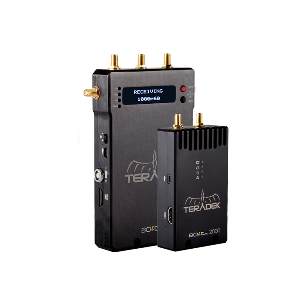 Teradek Bolt Pro 2000 Wireless HDMI Transmitter / Receiver Set
