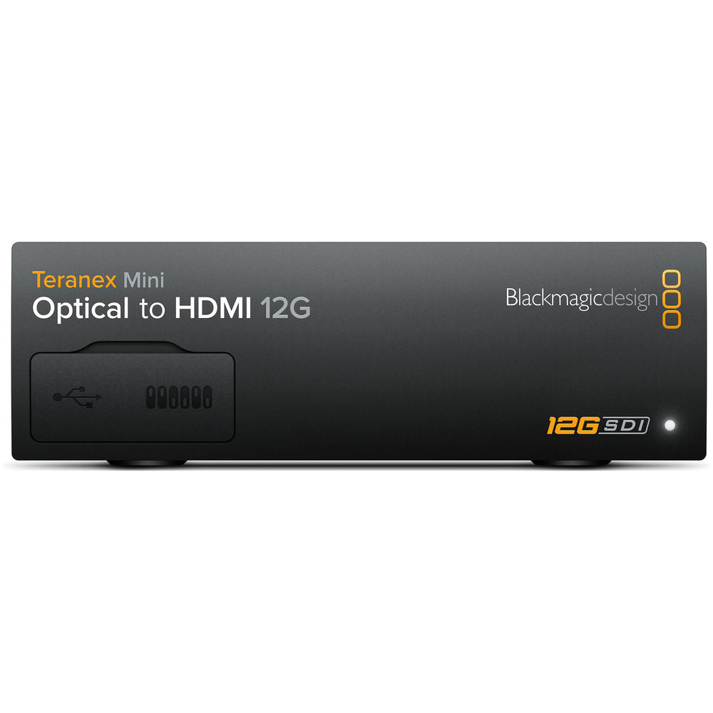 Blackmagic Design Teranex Mini Optical naar HDMI 12G Converter