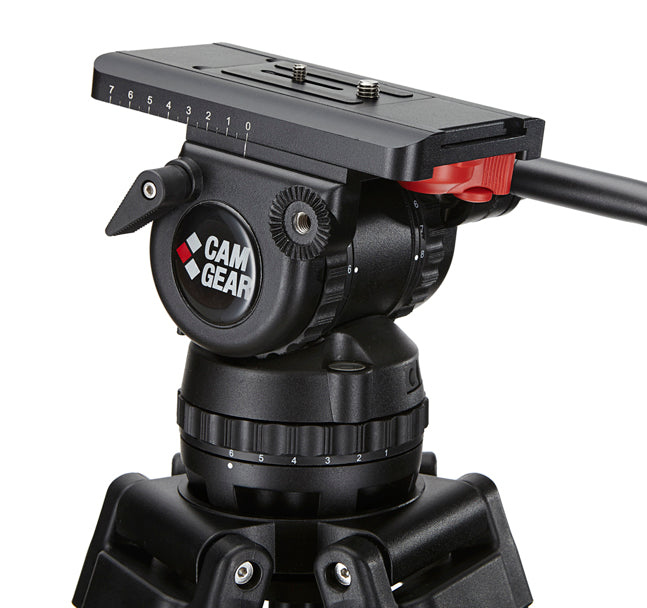 Camgear V12 Fluid Head 100mm