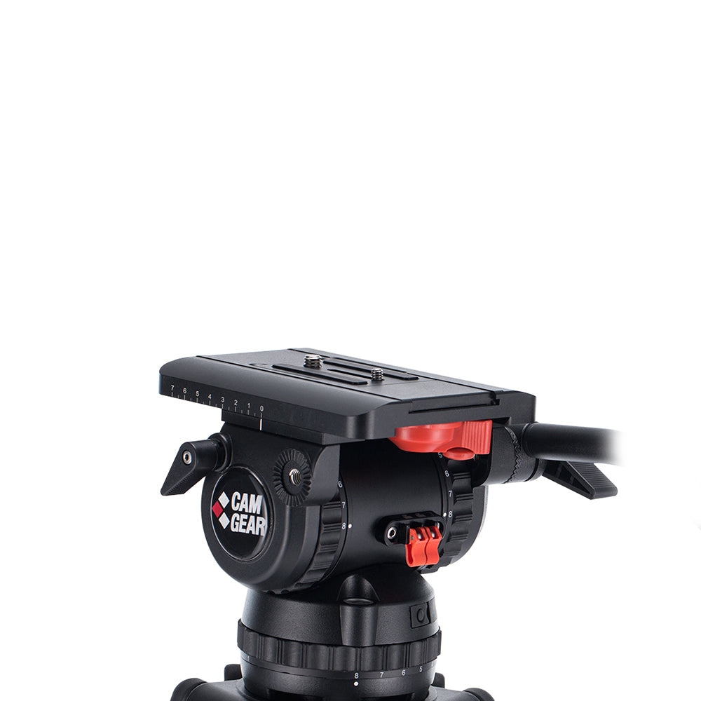 Camgear V20S Fluid Head 100mm Bowl