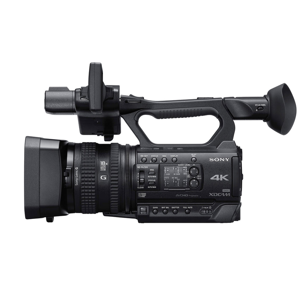 "Sony PXW-Z150 4K Single 1"" Exmor RS CMOS Sensor Camcorder"