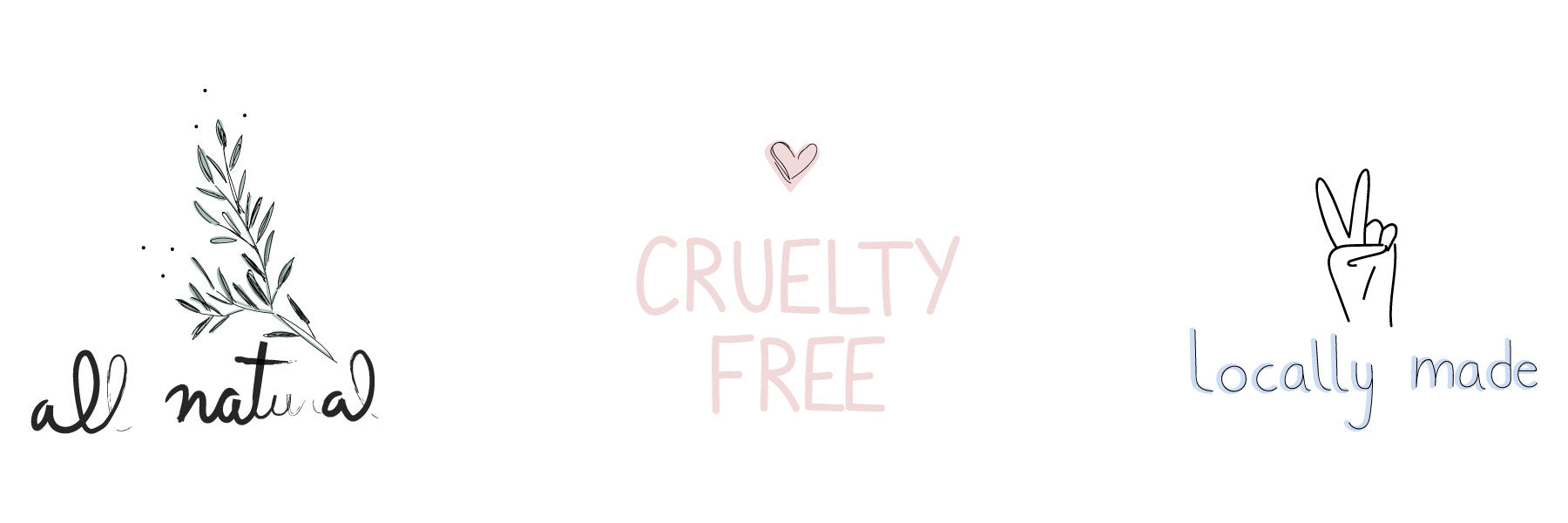 Cruelty free - Mimi and August