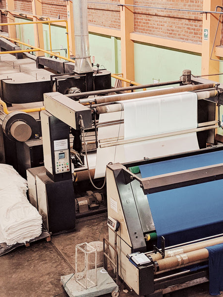 Machine dyeing for pima cotton by mimi & august
