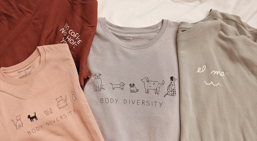 Say hello to the softest a comfiest clothes by mimi & august