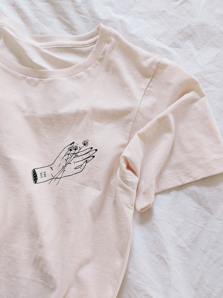 Hand Me Down Love Unisex Tee by Marion Hébert