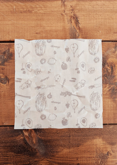 Abeego beeswax food wrap zero waste by mimi & august