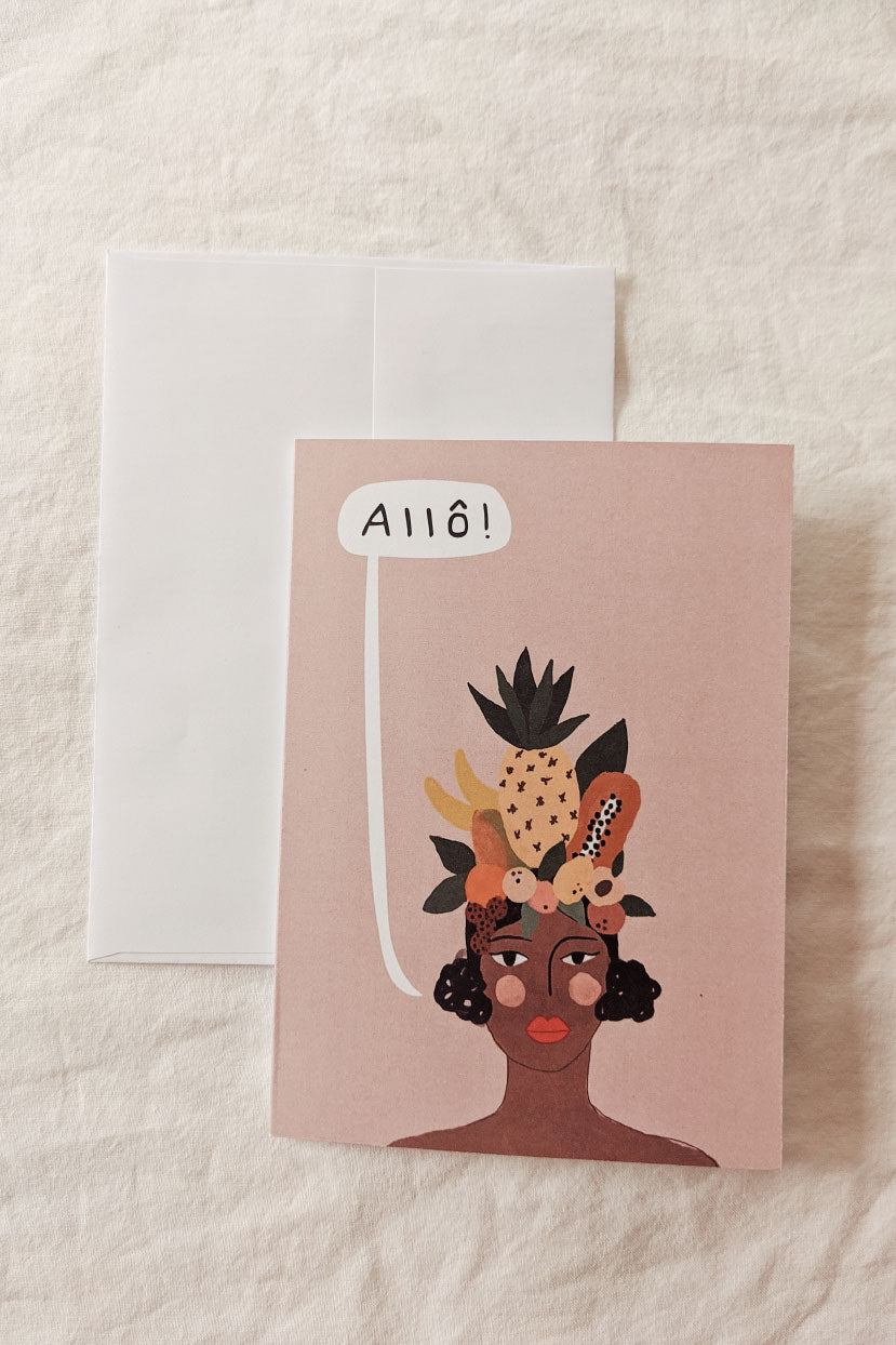 Allô | Beautiful Greeting Card by Mimi & august