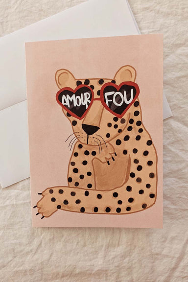 Amour Fou | Beautiful Greeting Card by Mimi & august