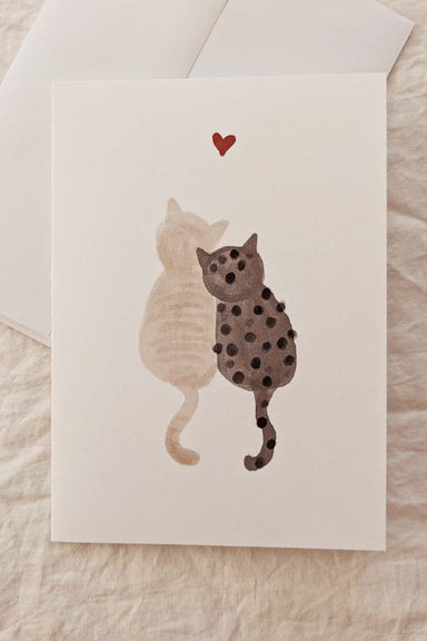Amour Purrfait | Beautiful Greeting Card by Mimi & august