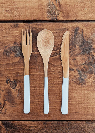 Bamboo utensil zero waste by mimi & august