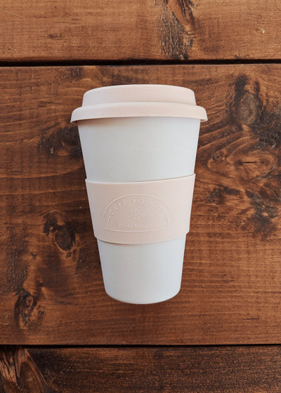 Reusable bamboo cup cafe yo zero waste by mimi & august