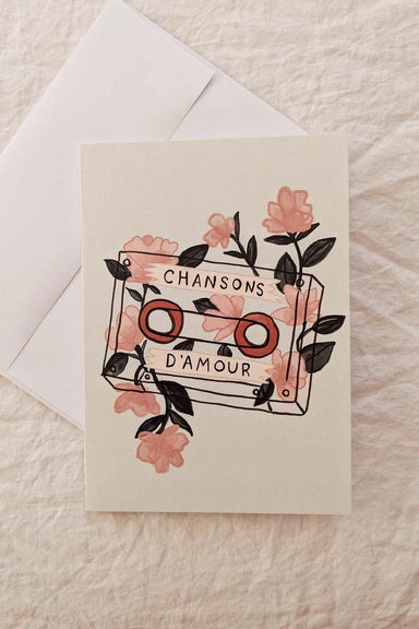 Chansons d'amour | Beautiful Greeting Card by Mimi and august