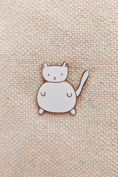 Charlotte Enamel Lapel Pin by mimi & august