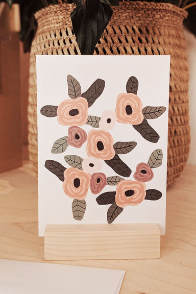 Fleur Printanière Beautiful Greeting Card by Mimi & August