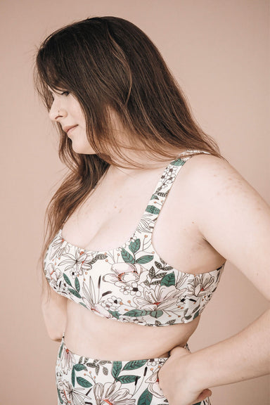 beautiful bralette bikini top for women by mimi & august