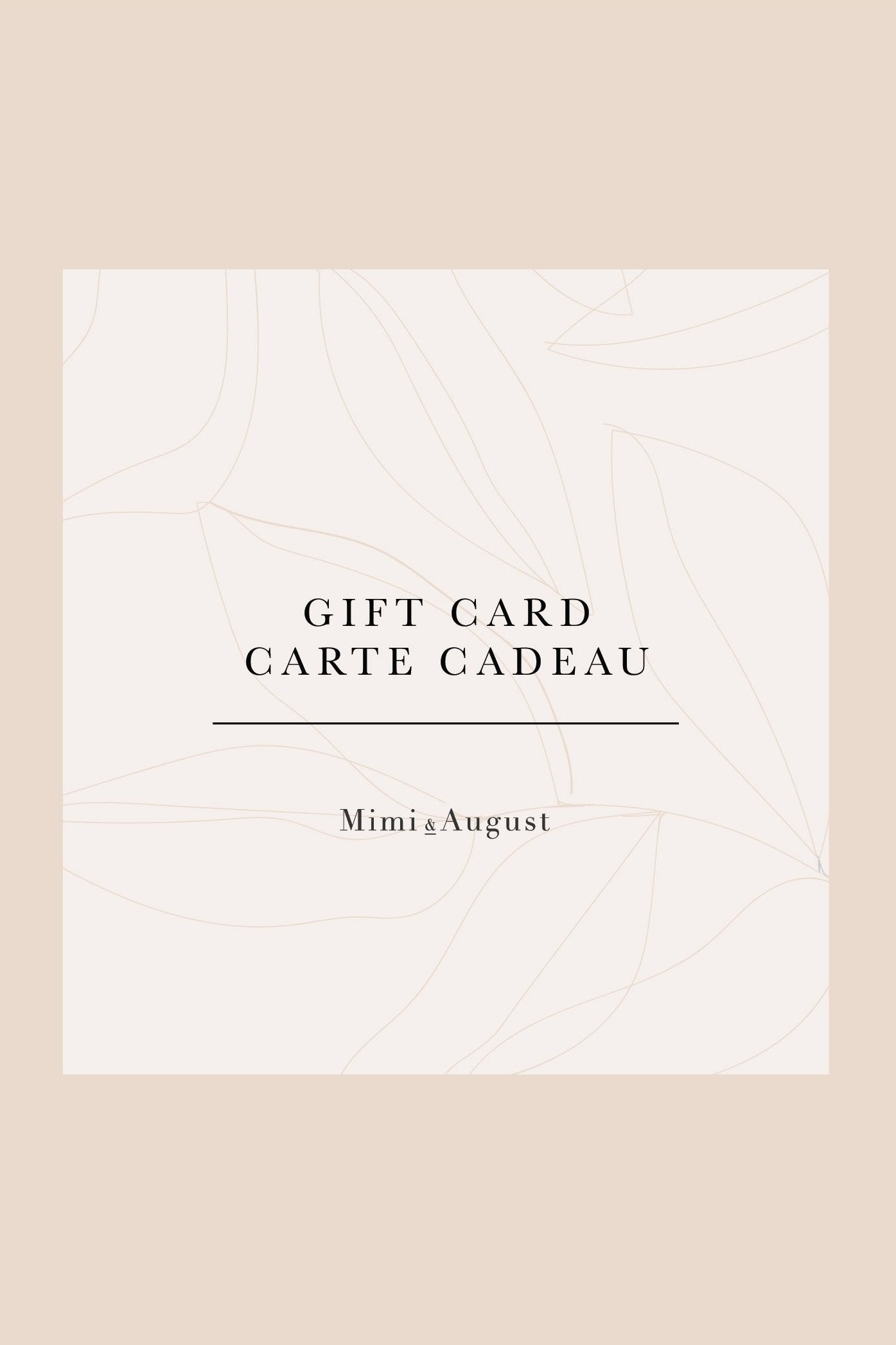 Mimi & August Gift Card