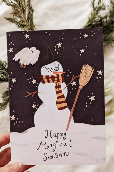 Happy Magical Season | Beautiful Greeting Card by Mimi & august