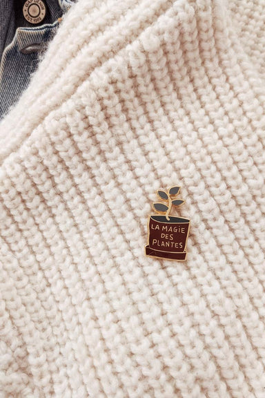 Plants everywhere enamel pin by mimi & august