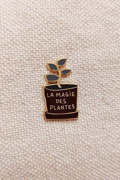 La magie des plantes Enamel Lapel Pin by Mimi & August